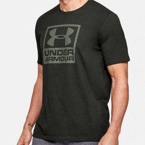 Under Armour Branded Crop SS T-Shirt Dark Green M